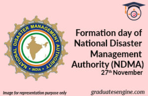 Formation-day-of-National-Disaster-Management-Authority-(NDMA)