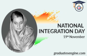 National-Integration-Day