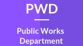 Public Work Department (PWD) Recruitment