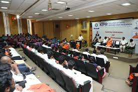 KPR COLLEGE OF ARTS SCIENCE AND RESEARCH – [KPRCAS], COIMBATORE