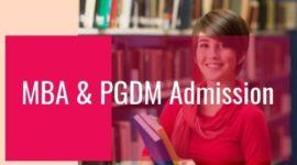 MBA admissions 2021-2022