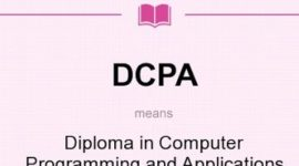 Diploma in Computer Programming and Applications Course details