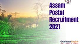 Assam Postal Recruitment 2021