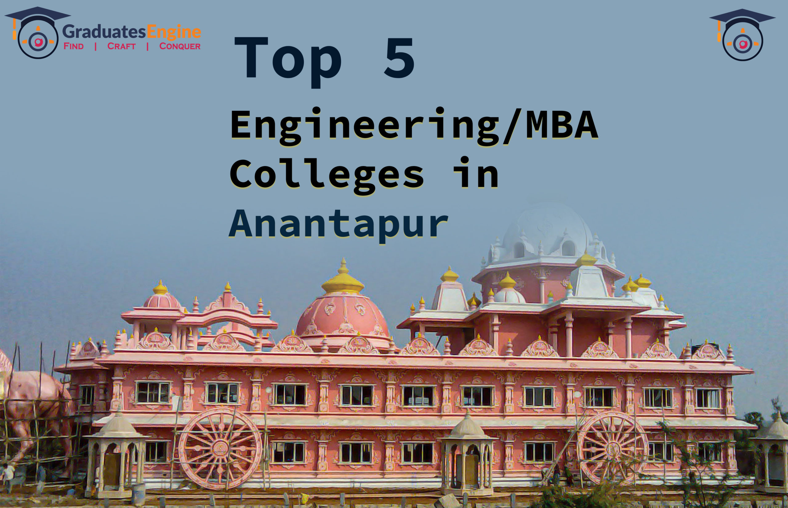 Top 5 Engineering/MBA colleges in Anantapur