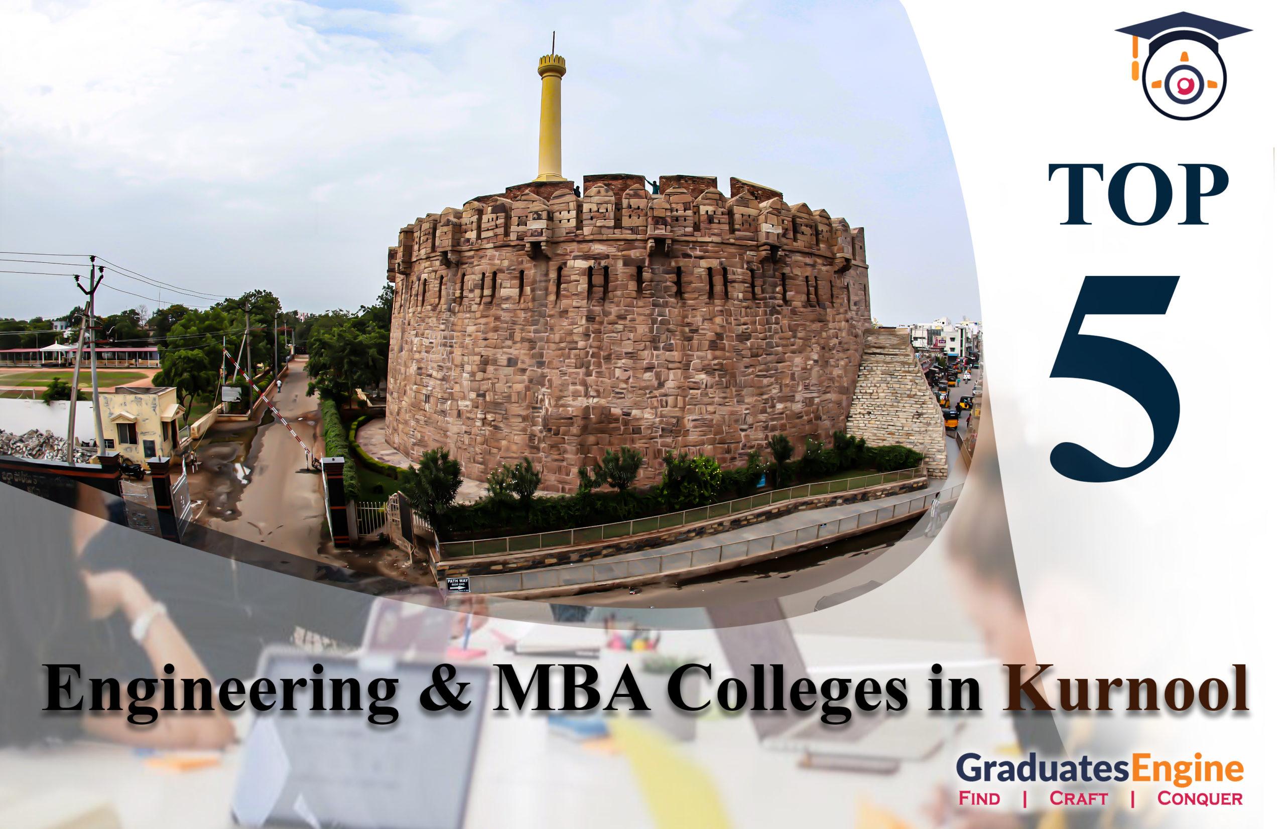 Top 5 Engineering Colleges in Kurnool