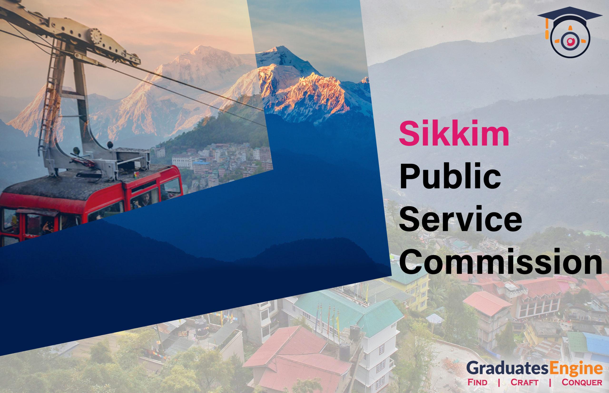 Educational News Sikkim Public Service Commission – SPSC