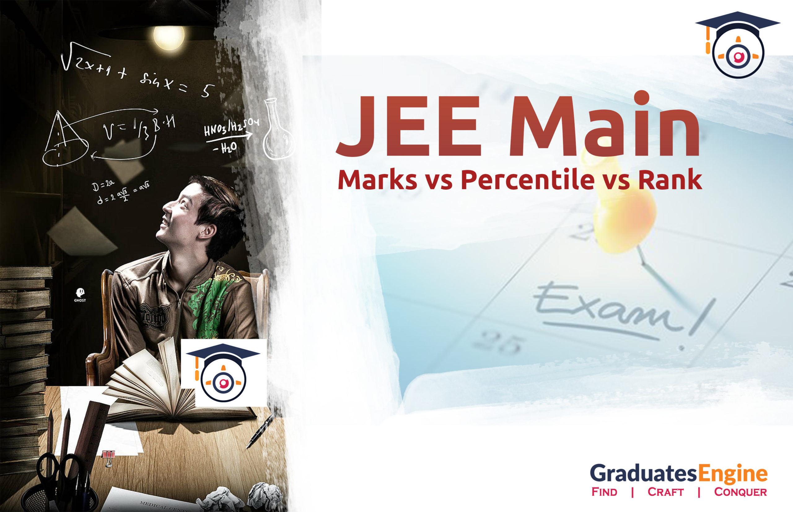 JEE Main| Marks vs Percentile vs Rank
